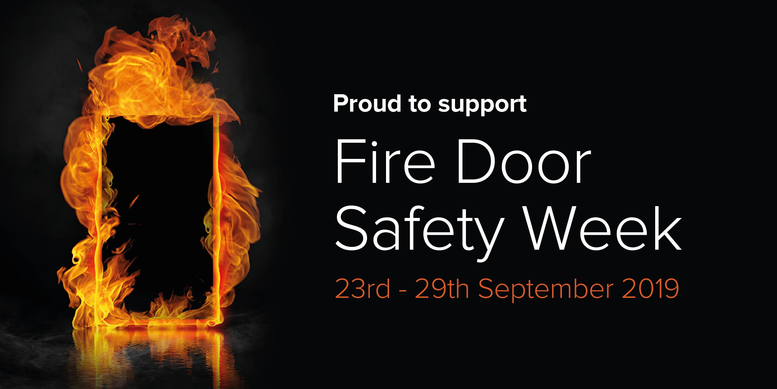 We're Supporting Fire Door Safety Week
